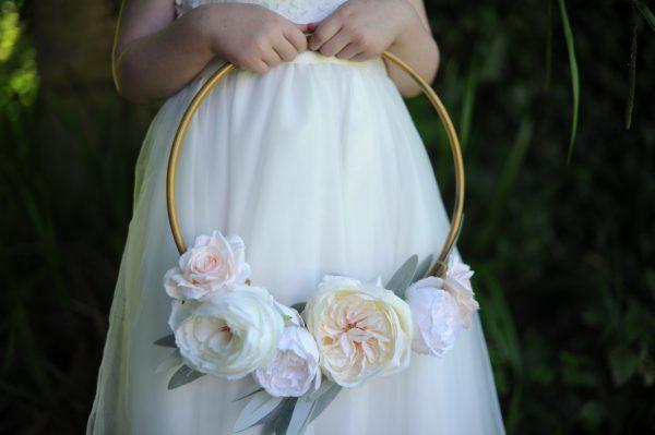 Emma flowergirl hoop
