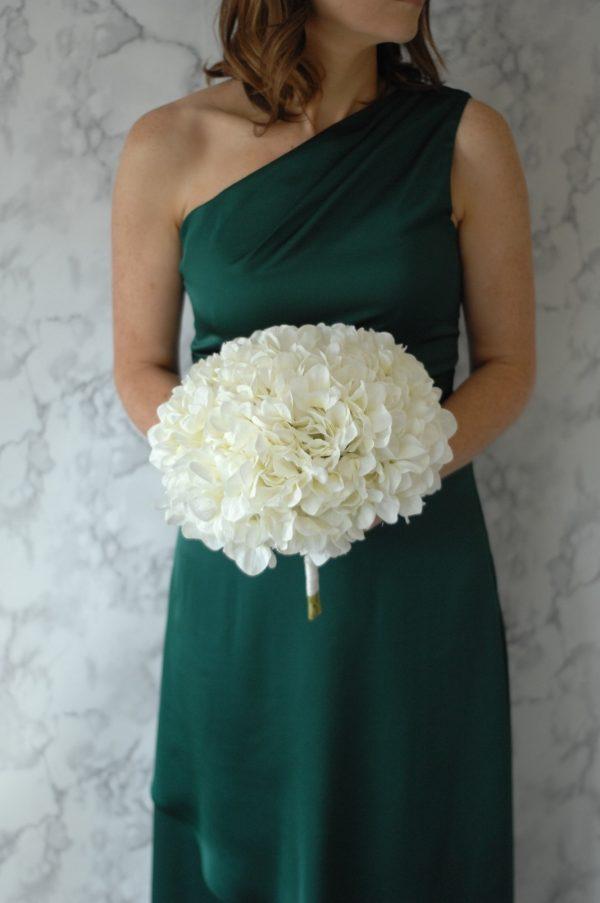 diana bridesmaids bouquet powder blue
