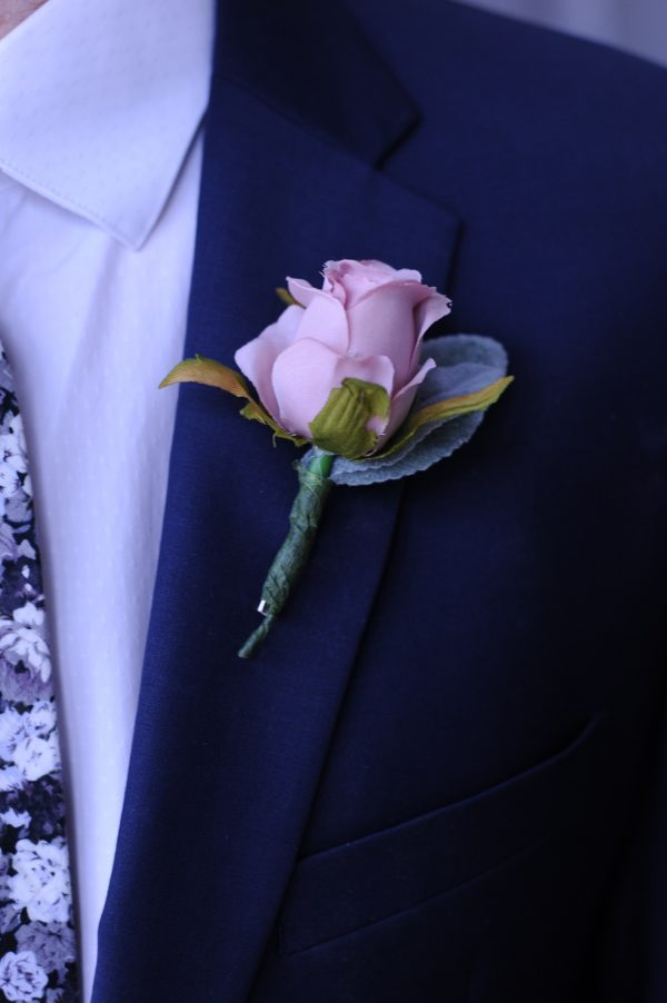 Charlotte buttonhole