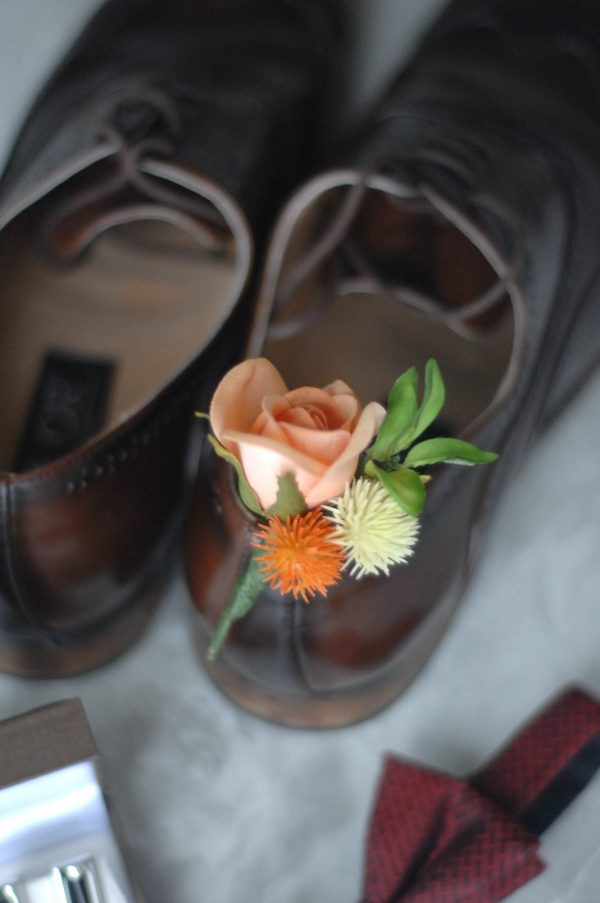 Brooklyn buttonhole hire admire blooms