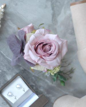 Leah corsage hire admire blooms
