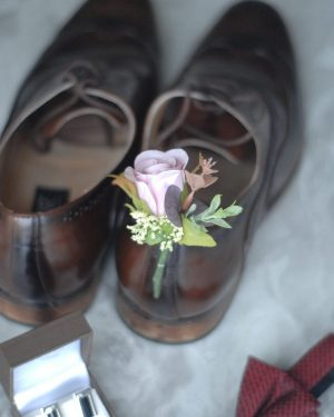 Leah buttonhole hire admire blooms